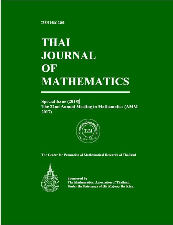 Thai Journal of Mathematics